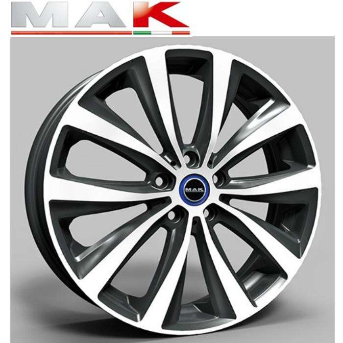 MAK FAHR 19インチ5.0J+43 5H112(PCD112) BMW i3専用ホイール4本セット