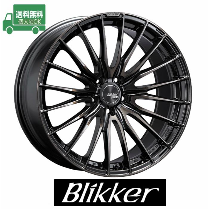 ☆送料無料☆SSR Blikker 01F (ブリッカー) 19インチ8J+48 5H114.3(PCD114.3) BB ホイール4本セットCH-R/オデッセイ/CR-V/アテンザ/SKフォレスター