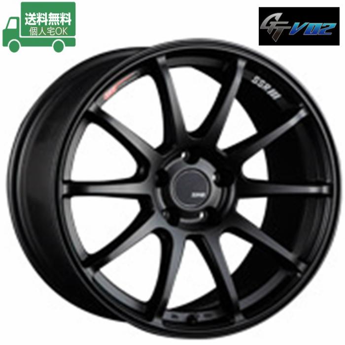 ☆送料無料☆SSR GTV02 18インチ 7.5J+48 5H114.3(PCD114.3) 特選輸入タイヤセット 225/45R18 レヴォーグ タイヤホイール4本セット