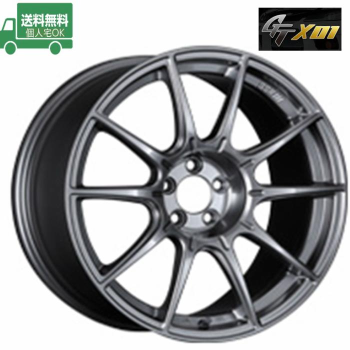 ☆送料無料☆SSR GTX01 17インチ 7.0J+42 4H100(PCD100) 特選輸入タイヤセット 205/40R17 ロードスター タイヤホイール4本セット