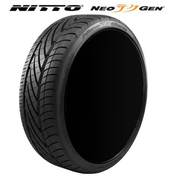 送料無料 国産 NITTO NEOGEN 215/40R18 89W XL 215/40-18 サマータイヤ 夏タイヤ 夏用4本セット