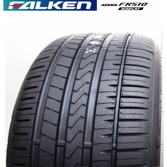 送料無料 国産 FALKEN (ファルケン) AZENIS FK510 RFT(ランフラットタイヤ) 225/45R18 95Y XL 225/45-18 サマータイヤ 夏タイヤ 夏用4本セット