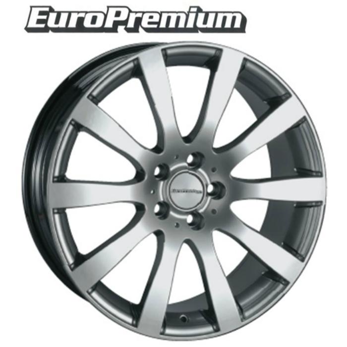 EuroPremium ShineSpoke 20インチ 5H120(PCD120) BMW X5(E53/E70/F15)/X5M(F15) ホイール4本セット
