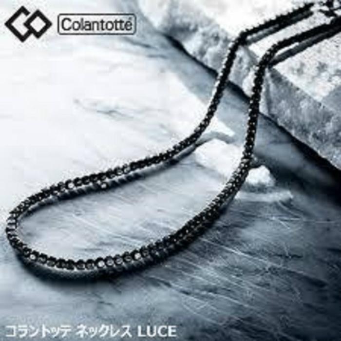 【即納】コラントッテ ネックレス LUCE Mサイズ(43cm)  首・肩の血行改善、首のこり・肩こりに効く健康ネックレス 送料無料