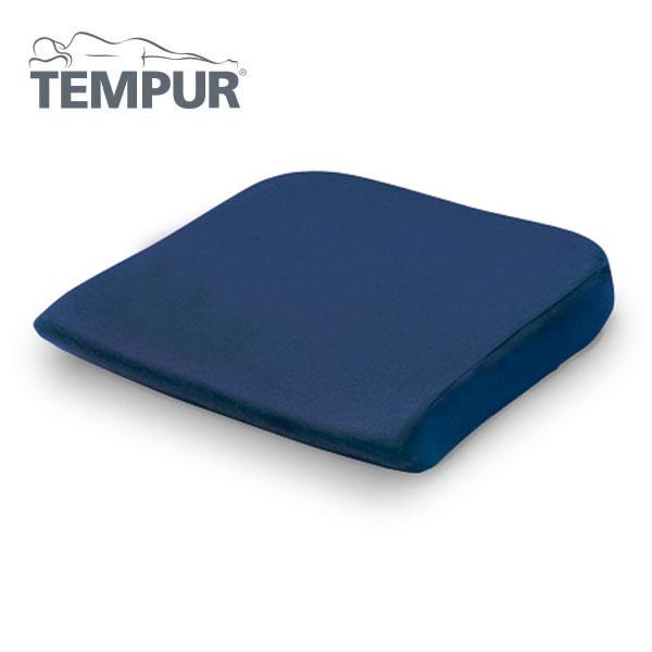 テンピュールシートクッション 【リニューアル版】【送料無料 SALE】 約40×42×5cm 椅子 イス チェア 寝具 ネイビー TEMPUR