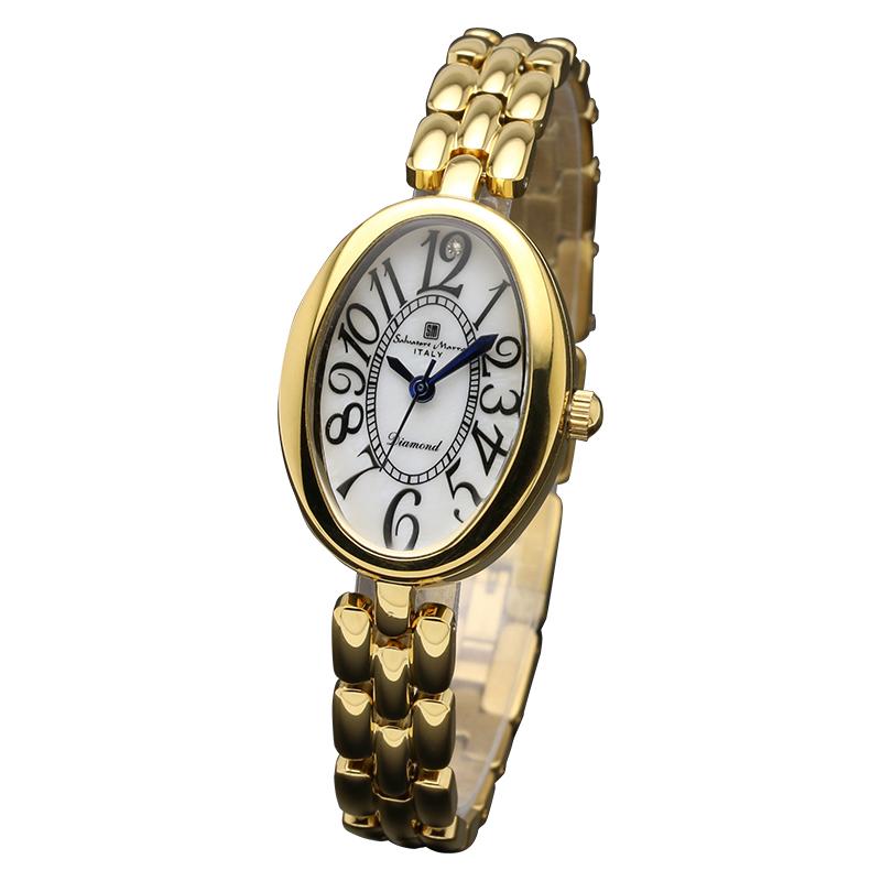 Salavatore Marra (サルバトーレマーラ) SM17152-GDWH クォーツ ウォッチ 【送料無料】 腕時計 レディース メタル watches お祝い 誕生日 プレゼント ギフト