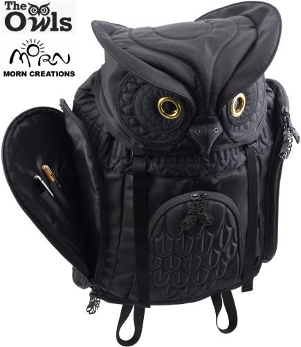 ミミズク バックパック Lサイズ OW-111 【送料無料】 モーンクリエイションズ MORN CREATIONS 梟 リュックサック カバン 鞄 バッグ ギフト プレゼント フクロウ OW111
