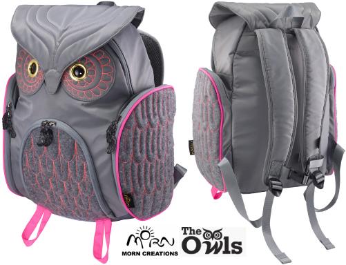 モーンクリエイションズ ミミズククラシックバックパック Lサイズ OW-311 【送料無料】 MORN CREATIONS 梟 リュックサック カバン 鞄 バッグ ギフト プレゼント フクロウ OW311(GRYF)