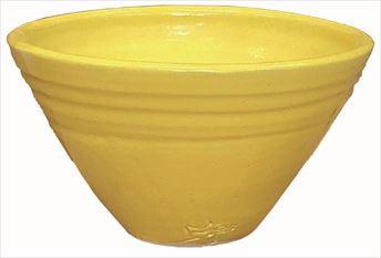手洗鉢 レモンイエロー (小) 24×H16cm