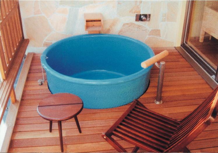 丸型陶器浴槽1000×H600mm  (送料55,000円は目安です別途見積となります)