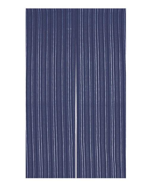 藍染のれん 京縞 BI 藍 京都のれんW90×H150cm受注製品のため返品はできません