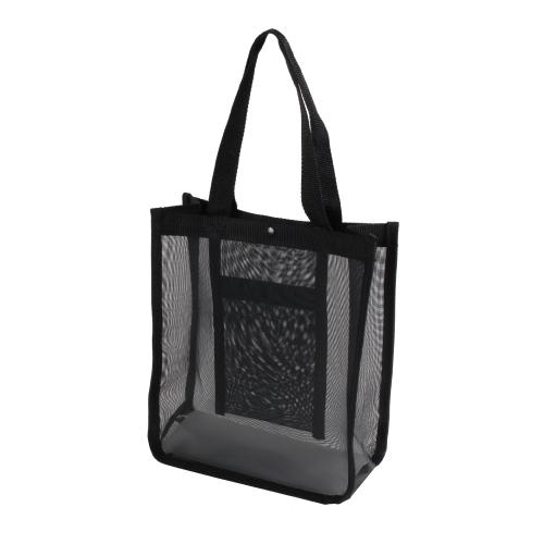 スパバッグ 温泉バッグ メッシュバッグ 黒 100個 B5 25×28×マチ10cm【ホットヨガ】【ヨガ】【ジム】配送方法は宅急便とレターパック(メール便)とお選びできます