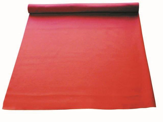 毛氈 赤 ラバー付 巾900×厚3mm (毛氈1mm ラバー2mm)(1m単位)