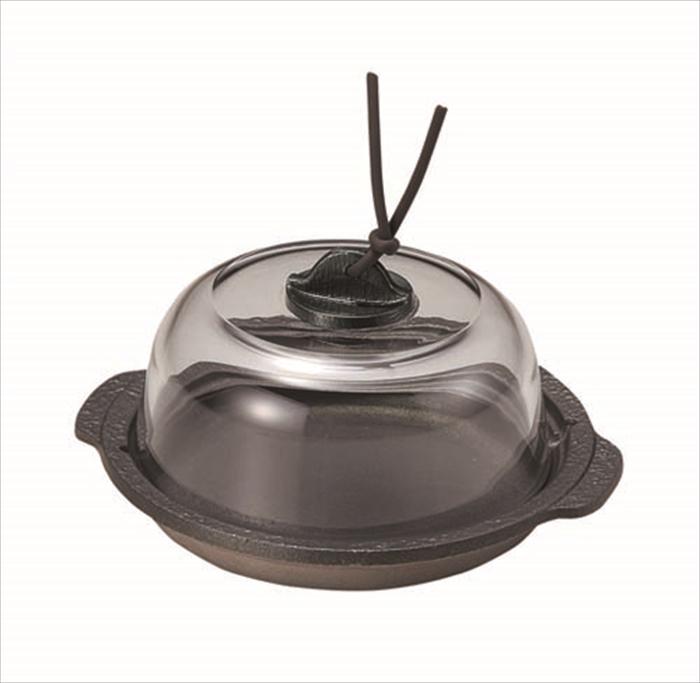 蒸し料理 温かくお客様に提供できます 蒸し陶板皿 新着セール オリジナル フッ素加工 14.4×H2.5cm 0.15L※陶板皿のみとなります 旅館 宴会 業務用 1人鍋 調理の段階が目視できて便利です足付板目皿は別売りにてございます 飲食店 土鍋