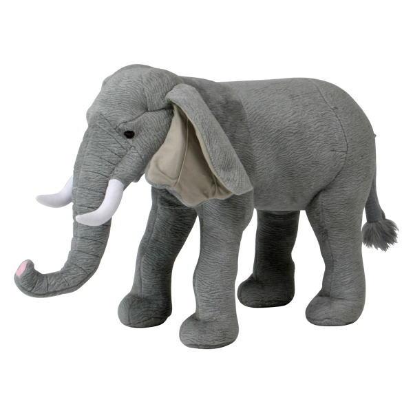座れる動物 ゾウ アニマルぬいぐるみ 趣味のぬいぐるみ