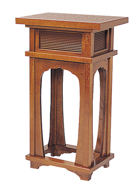 【エントリーでポイント10倍】香台(花台)(1700-0300)【栓】幅1尺5寸(幅45cm)