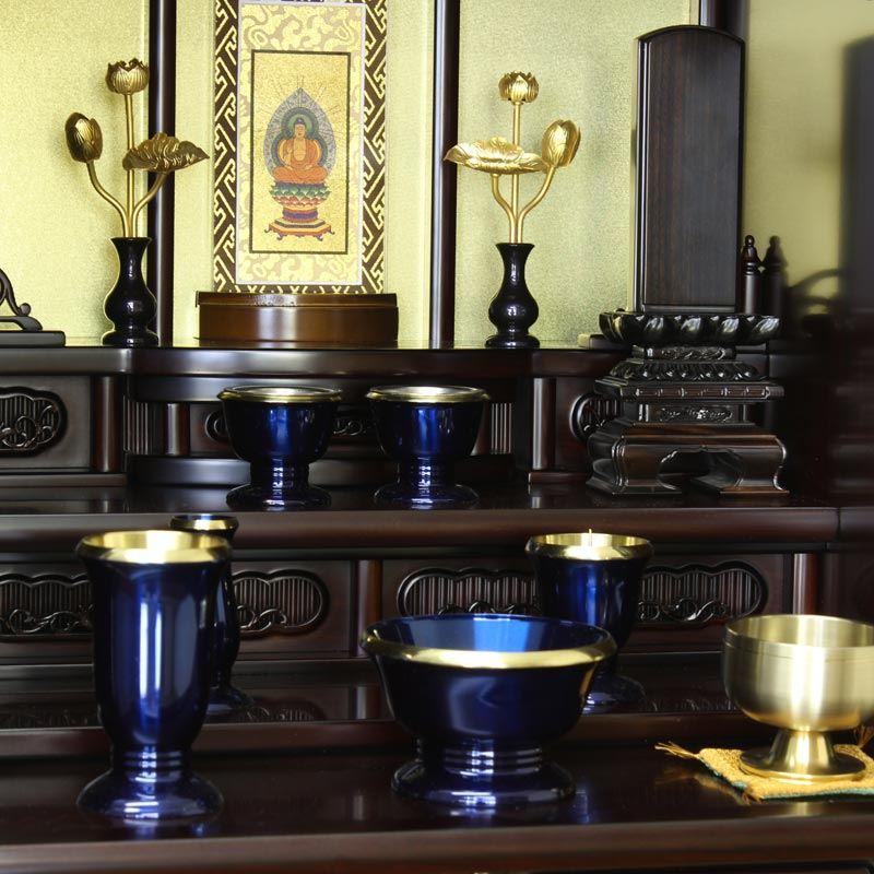 ◆ altar ◆ small Buddhist altar on top of IRIS 18 No. ebony rosewood urban altars / モダンミニ altar / modern altars and small altars / Dharma altar / furniture / storage / store / sales / Rakuten