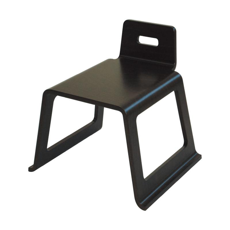 成形合板 お詣り椅子【ASUKA】ダーク色 (0570-0290)※アウトレット品