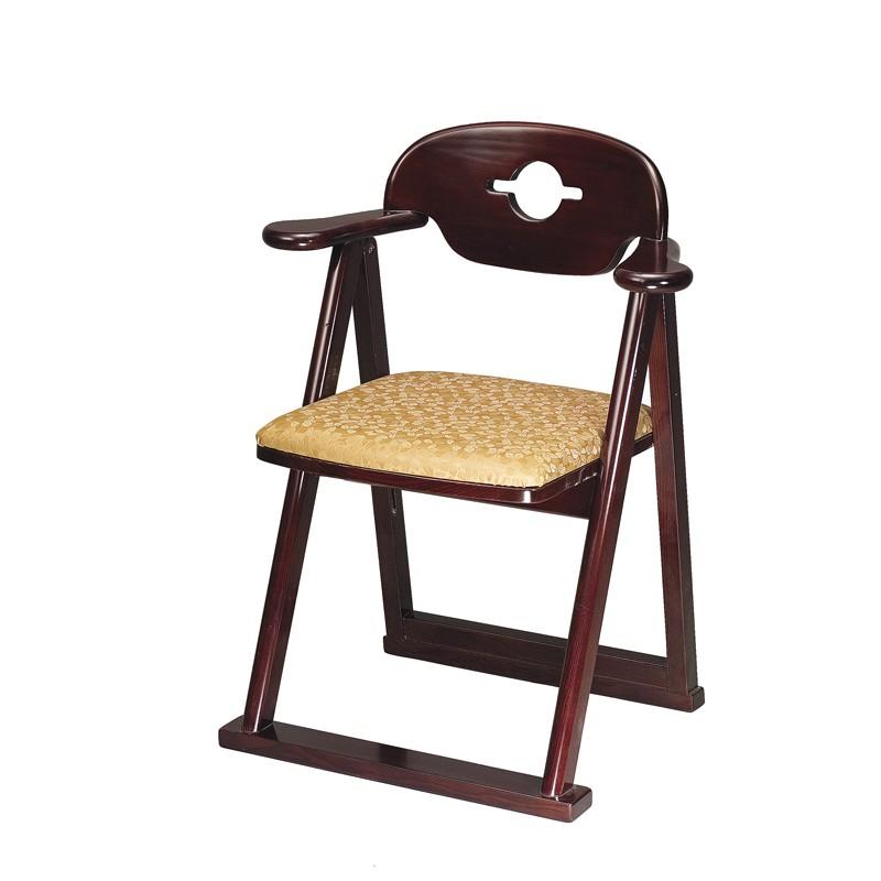 【エントリーで更にポイント5倍実施中】折畳椅子 ひばり 日本製 (2111-0201)