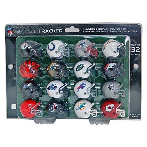 NFLファンアイテム プレーオフトラッカーボード ヘルメット32個セット 公式ライセンス商品 [並行輸入品]