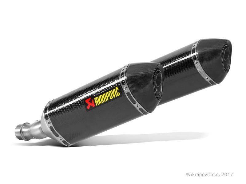 AKRAPOVICアクラポヴィッチ 政府認証マフラー SLIP ON LINE カーボン Ninja1000(ABS)