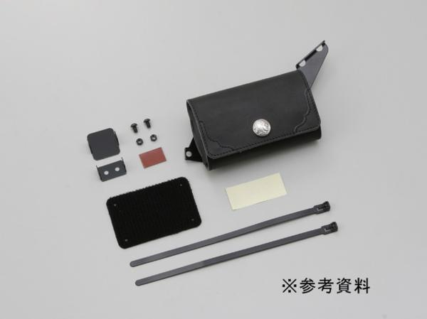 (91047)デイトナ新型ETCケース スポーツスター'04-'13■ブラック
