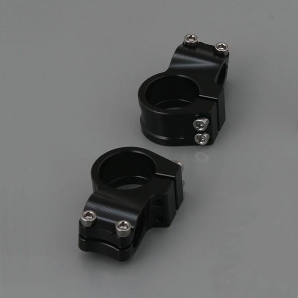 DAYTONA (69457) デイトナ 削り出しセパレートハンドル クランプ φ50 黒