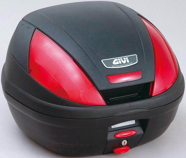 (68051) GIVI トップケース E370シリーズ 未塗装ブラック 39L