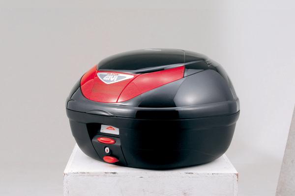 (68041) GIVI トップケース E350 FLOWシリーズ Pホワイト塗装