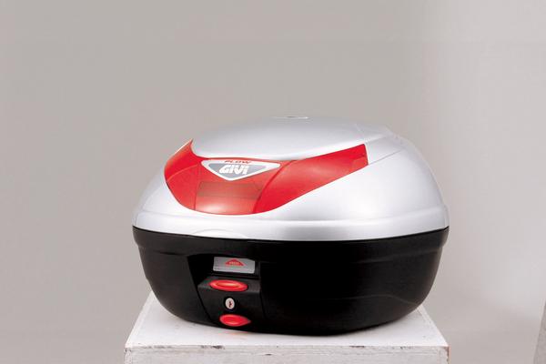(68042) GIVI トップケース E350 FLOWシリーズ シルバー塗装 35L