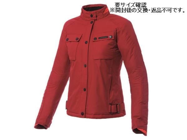 92464デイトナBicilindricaジャケット肘プロテクター付M赤LADIES