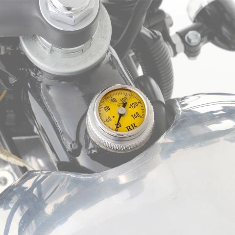 93263 DAYTONAディップスティック油温計 SR400 SR500 SR400FI 黄