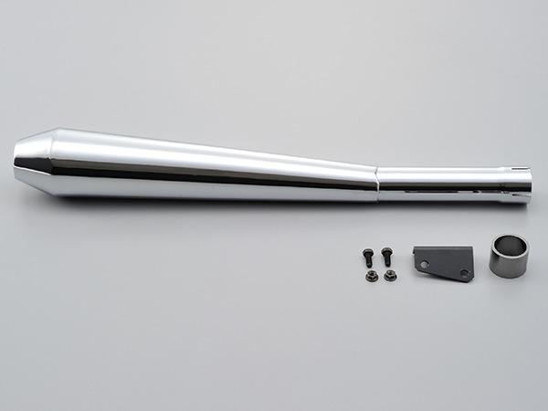 94499 デイトナ スリップオンメガホンタイプマフラー SR400 10~