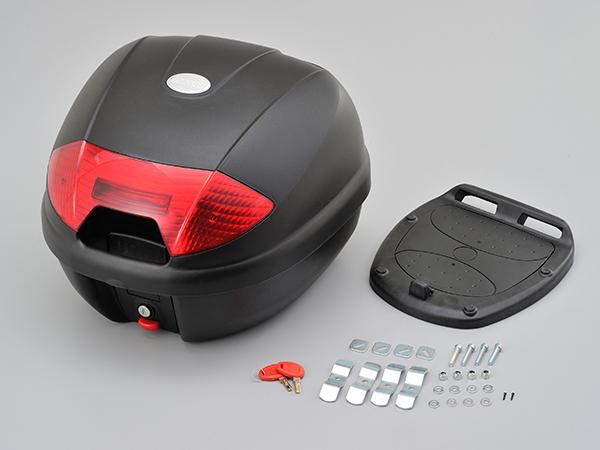 95675 デイトナ GIVI モノロックケース K30N レッドレンズ 400×405×310 汎用ベース付