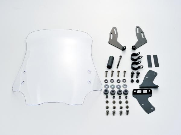 95357 デイトナ ウインドシールドRS クリアー LEDヘッドライトモデル専用 GROM 16年式(13~15年は不可)
