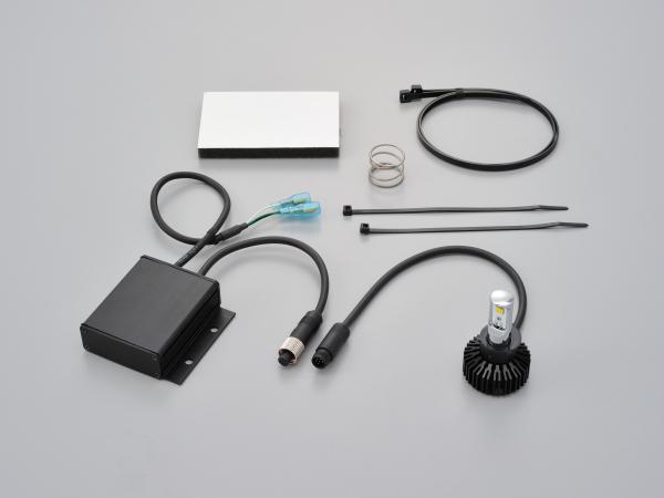 96072 デイトナ LEDヘッドランプバルブ フォース・レイ PH7 12Vモンキー ゴリラ Ape50/100 XR50/100