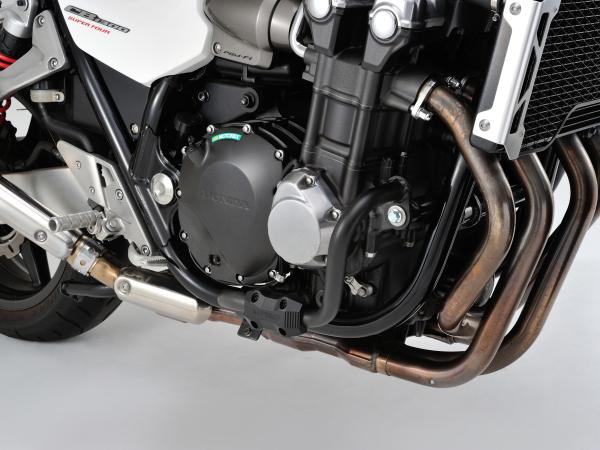 96088 デイトナ パイプエンジンガード ブラック塗装 CB1300SF (03-16) CB1300SB (05-16)