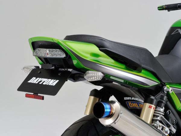 97107 デイトナ フェンダーレスキット (車検対応LEDライセンスランプ付) ZRX1200DAEG