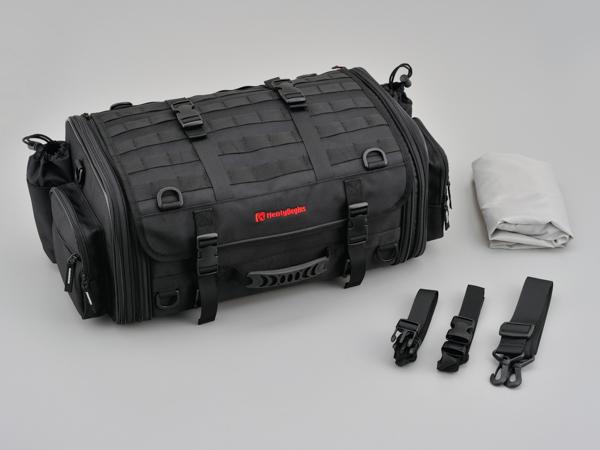96720 デイトナ HenlyBegins ツーリングシートバッグ DH-718 Mサイズ W490~610×H225×D275mm 33~42L