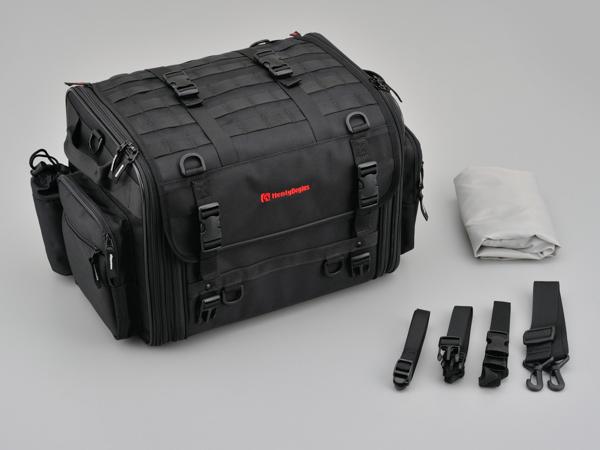 96721 デイトナ HenlyBegins ツーリングシートバッグ DH-719 Lサイズ W410~570×H300×D320mm 44~60L