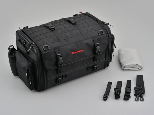 97980 デイトナ HenlyBegins ツーリングシートバッグ DH-724 LLサイズ W525~685×H300×D320mm 53~70L