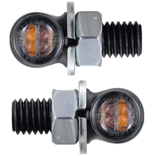 デイトナHIGHSIDERウインカーマットブラックLED 公式ショップ 17310 デイトナ HIGHSIDER ハイサイダー バイク用 LED テールランプ一体リアウインカー ウインカー マットブラック 正規逆輸入品 プロトンTWO