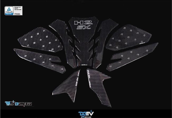 DIMOTIV DI-BCPP-H2SX-19 プロテクトパッド H2SX お得セット カーボン調プロテクトパッド9点セット 正規店