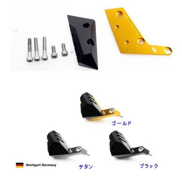 DIMOTIVエンジンクラッシュパッドR/右■YZF-R1 ゴールド