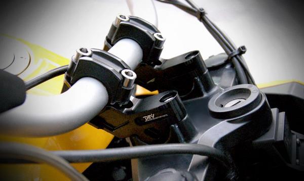 DIMOTIV di-hrb-bm-01 ハンドルライザー 15mmアップ30mmバック R1200GS/ADV