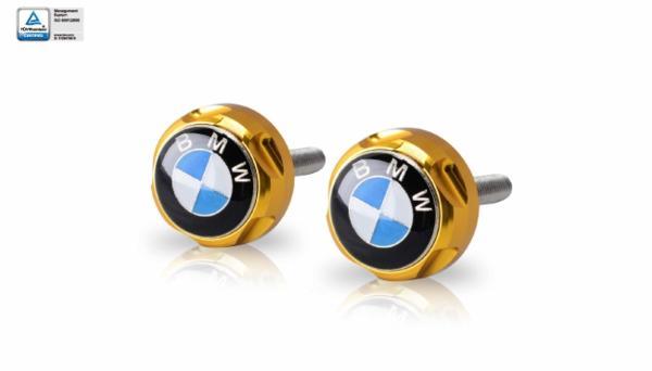 DIMOTIV di-fhc-bm-06 BMWロゴ付フレームホールカバー S1000RR S1000R HP4