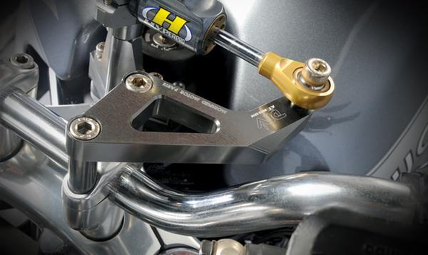 DIMOTIV di-dmk-du-01 ステアリングダンパーマウントキット ゴールド チタン DUCATI GT1000