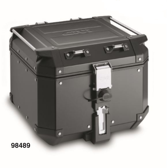 98489 デイトナ トップケース TREKKER OUTBACKシリーズ(ストップランプ無し)42L ブラックライン ベース無し 専用フィッティング必要です