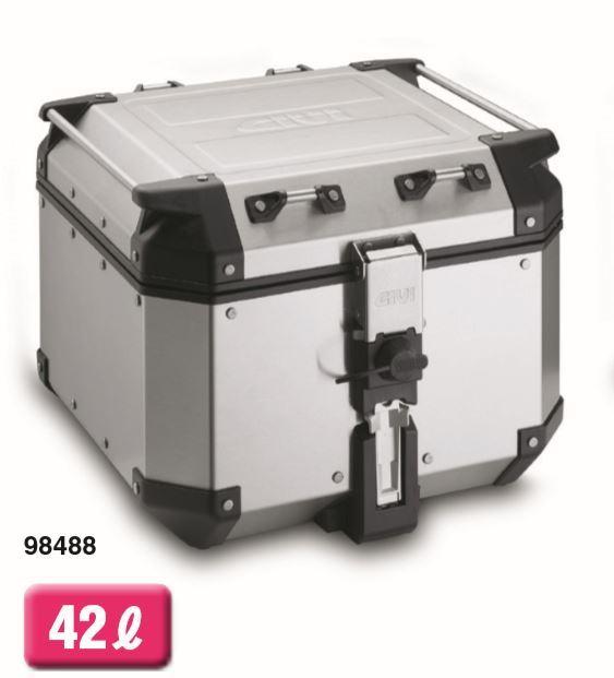 98488 デイトナ トップケース TRTREKKER OUTBACKシリーズ(ストップランプ無し)42L ベース無し 専用フィッティング必要です。
