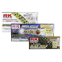 ☆RKチェ-ン 530X-XW-120 GSX1300R CBR1000RR GSX1400 鉄色